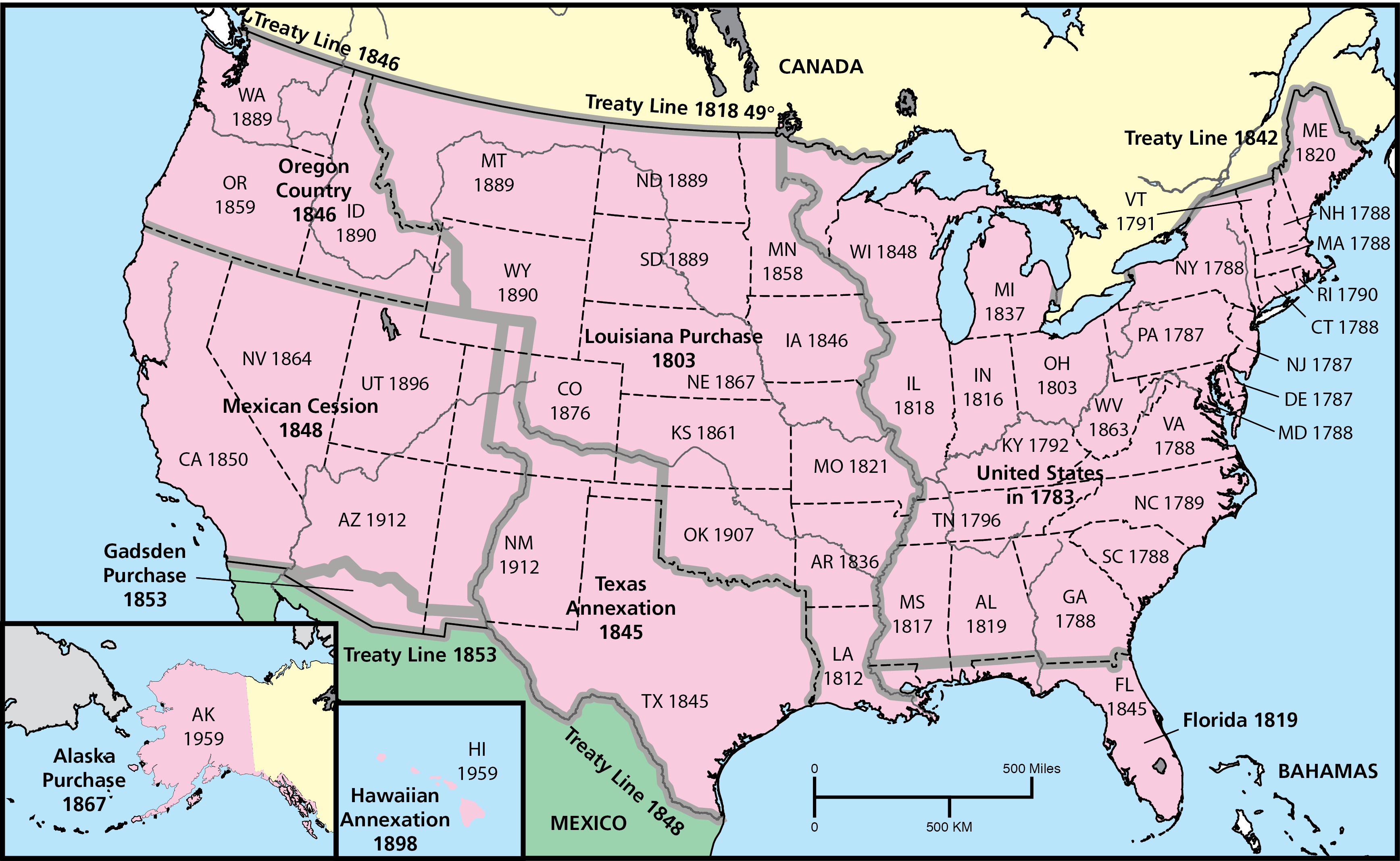 Us Western Expansion Map Choices Program | U.S. Westward Expansion Through Maps   Choices